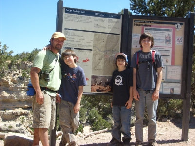 Grand Canyon - Dropped Off Bright Angel Trail_1