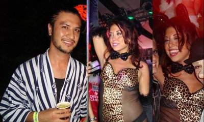 Found Camera @ Playboy Mansion Kandy Halloween