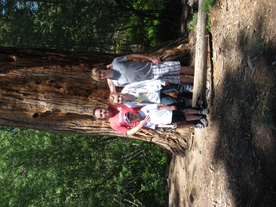Family portrait in Yosemite_1