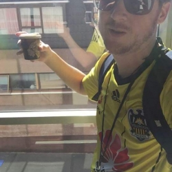 Wellington Phoenix fan selfie