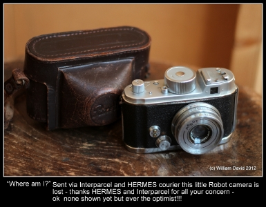Robot camera lost by Hermes during delivery!_1