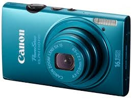 LOST: Canon Powershot ELPH 110HS Camera- Blue_1