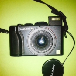 Panasonic LX5 lost during communiversity in Princeton