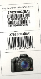 Camera Info - from Canon + Photo_1