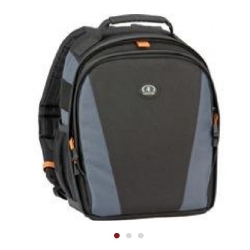 Stolen Fujifilm HS50 and Tamarac black/orange backpack case