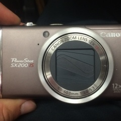Canon Powershot SX200 IS 12X Optical Zoom