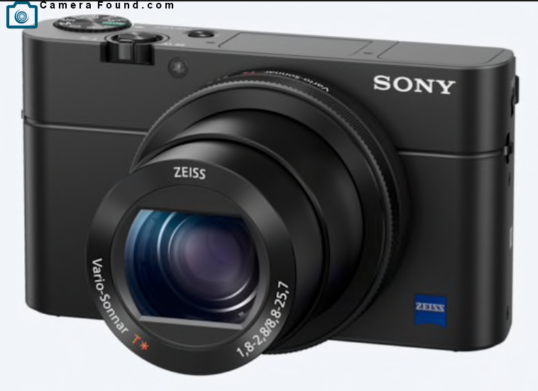 Lost Sony RX100