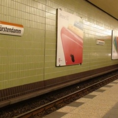 in Berlin UBahn