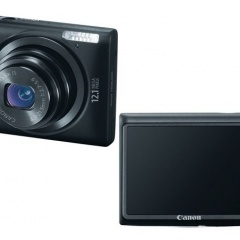 WANTED BLACK CANON PowerShot ELPH 300 HS 12.1-Megapixel Digital_1