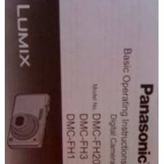 Black Panasonic Lumix DMC-FH20 Digital Camera_1