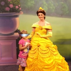 Only picture from trip taken with Belle at Disney World_1