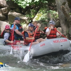 Lost after whitewater rafting at NOC