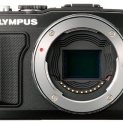 Olympus E-PL5 camera in a Case Logic camera bag
